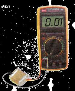 Determination of value of a Ceramic capacitor