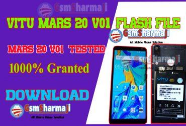 Vitu Mars 20 V01 Firmware