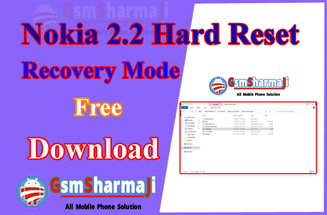 Nokia 2.2 Hard Reset Recovery Mode