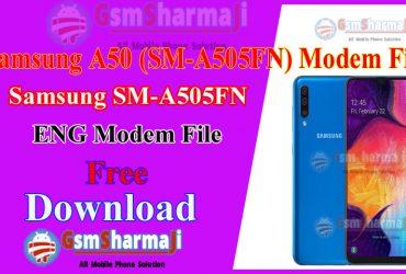 Samsung A50 ENG Modem File