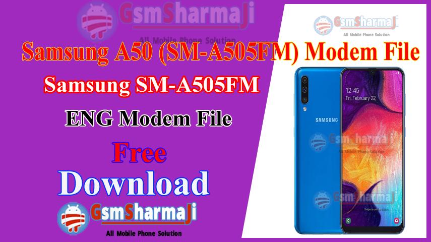 Samsung A50 ENG Modem File2