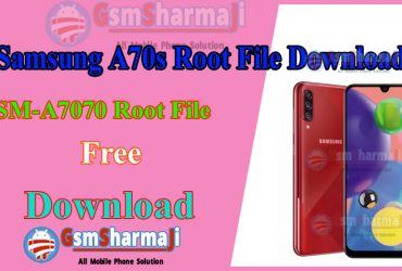 Samsung A70s SM-A7070 Android10 Root File Download