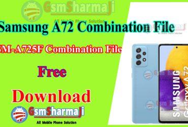 Samsung A72 SM-A725F Combination File