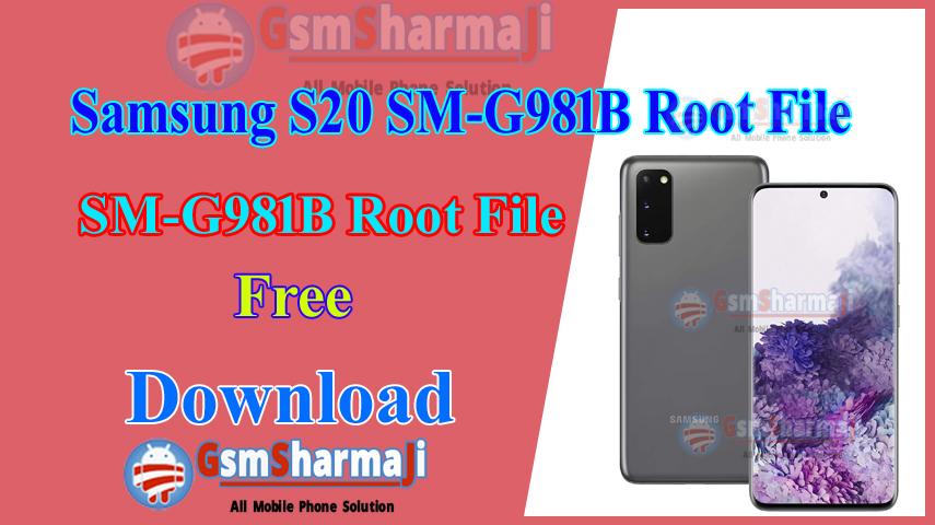 Samsung S20 SM-G981B Root File