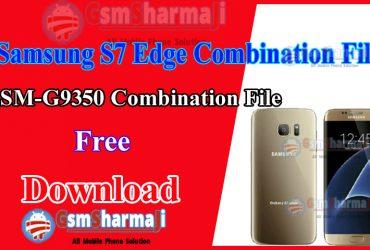 Samsung S7 Edge Duos SM-G9350 Combination File