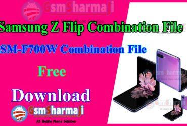 Samsung Z Flip SM-F700W Combination File Firmware Free Download