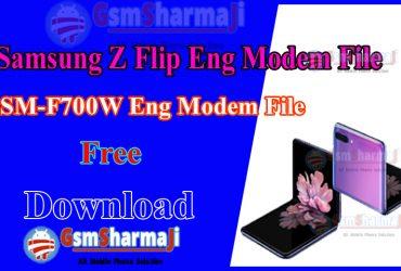 Samsung Z Flip SM-F700W ENG Modem File Firmware Free Download
