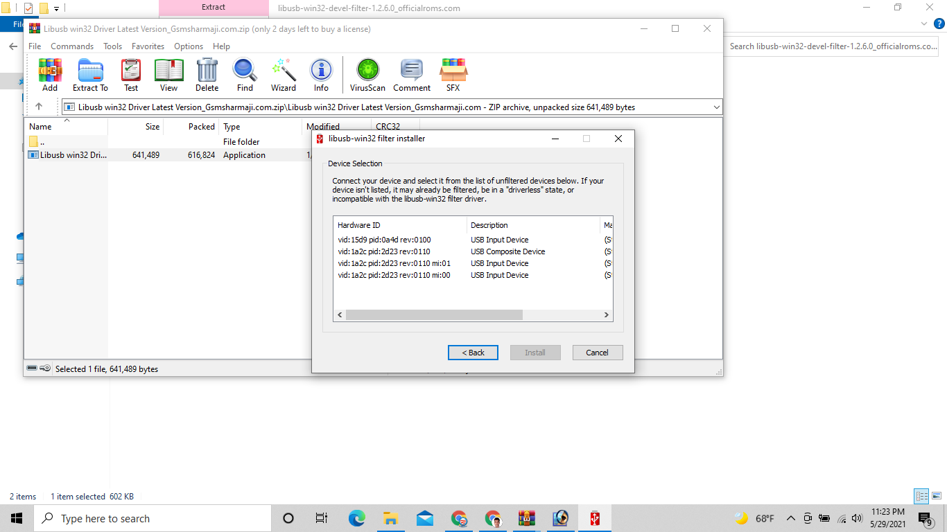 How to Use LibUSB Win32 Driver