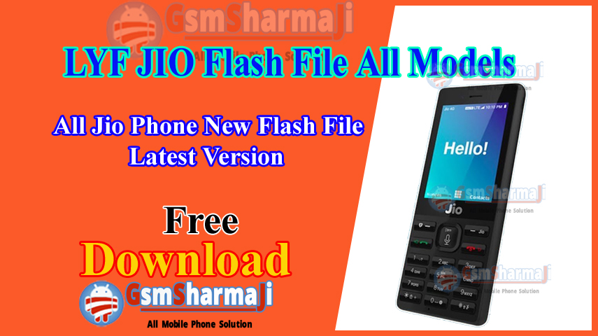 All Jio Phone Latest Flash File Download