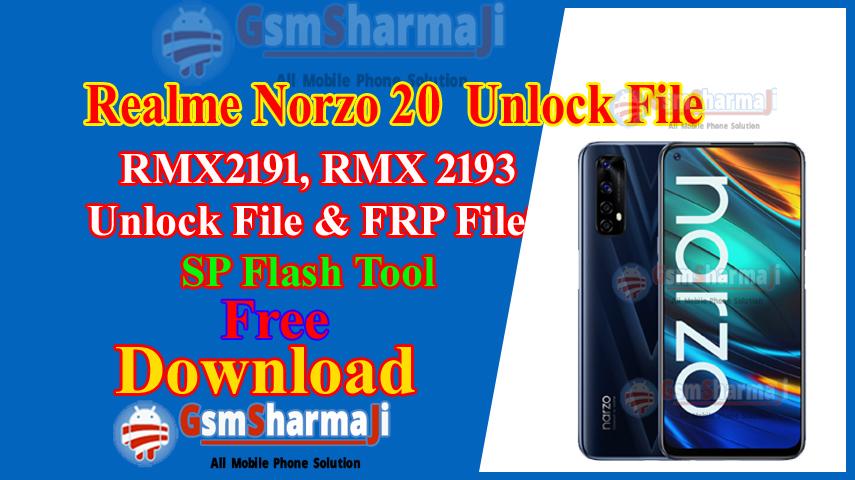 Realme Narzo 20 Pattern Unlock Free Tool One Click
