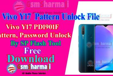 Vivo Y17 Pattern Unlock By Free SP Flash Tool