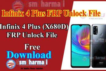 Infinix 4 Plus (X680D) FRP Unlock File