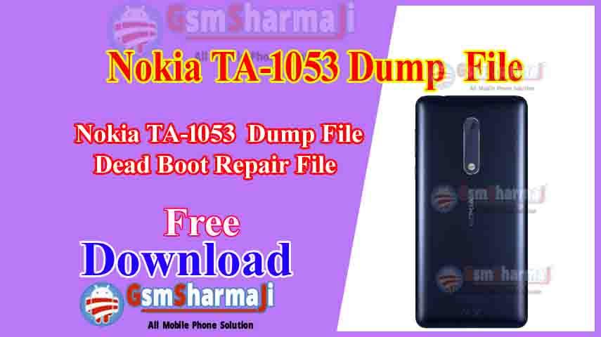 Nokia Ta-1053 Dump File Free Download