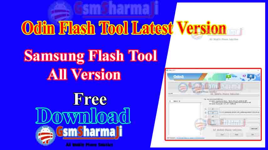 Odin Flash Tool All Version Download