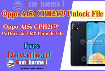 Oppo A15s CPH2179 Pattern & FRP Unlock File Free SP Flash Tool