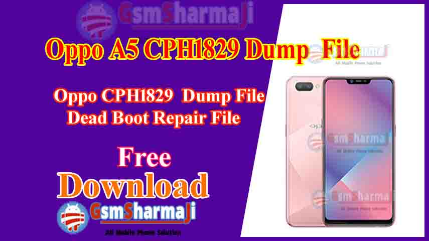 Oppo A5 CPH1829 Dump File Free Download Tested