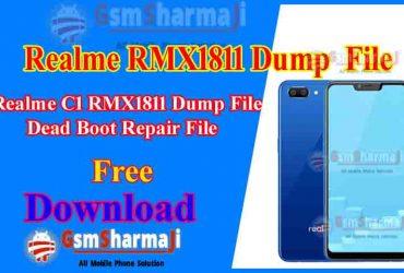 Realme C1 RMX1811 Dump File