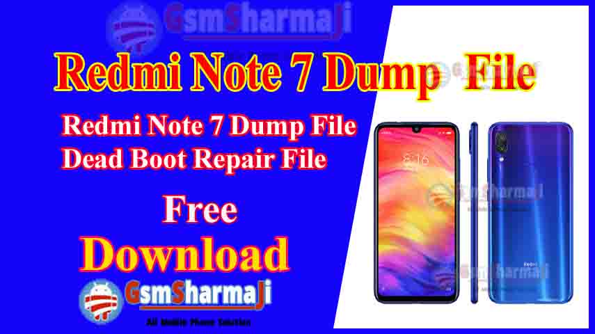 Redmi Note 7 Dump File Free Download Tested