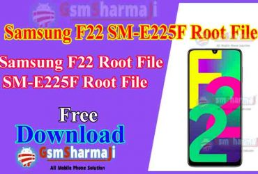 Samsung F22 SM-E225F Android11 Root File Download
