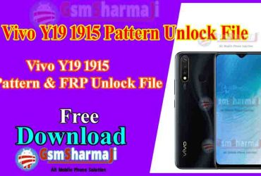 Vivo Y19 1915 Pattern Unlock By SP Flash Tool One Click