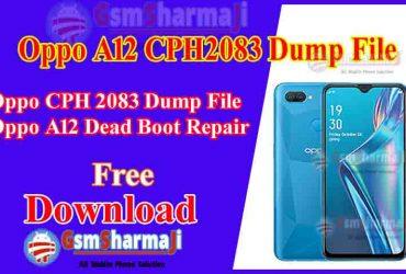 Oppo A12 CPH2083 Dump File Free Download