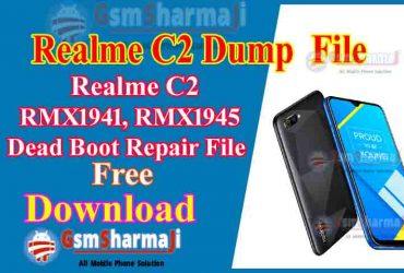 Realme C2 (RMX1941 RMX1945) Dump File Free Download Tested