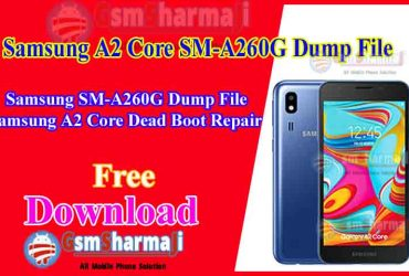 Samsung A2 Core SM-A260G Dump File Free Download