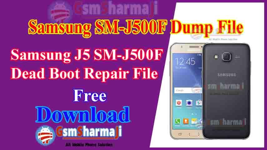 Samsung J5 SM-J500F Dump File Free Download